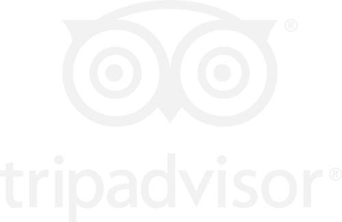 trip advisor logo in white