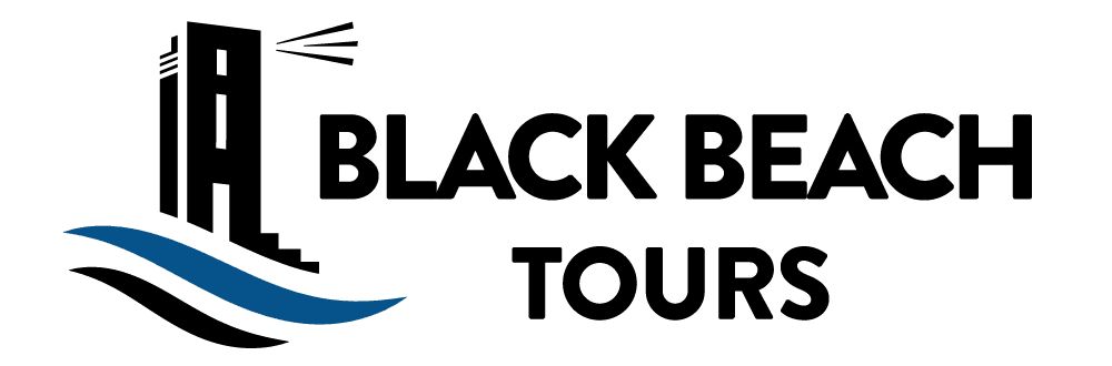 Black Beach Tours logo